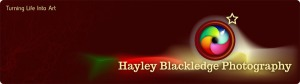 Hayley Blackledge Photography Logo 2013.
