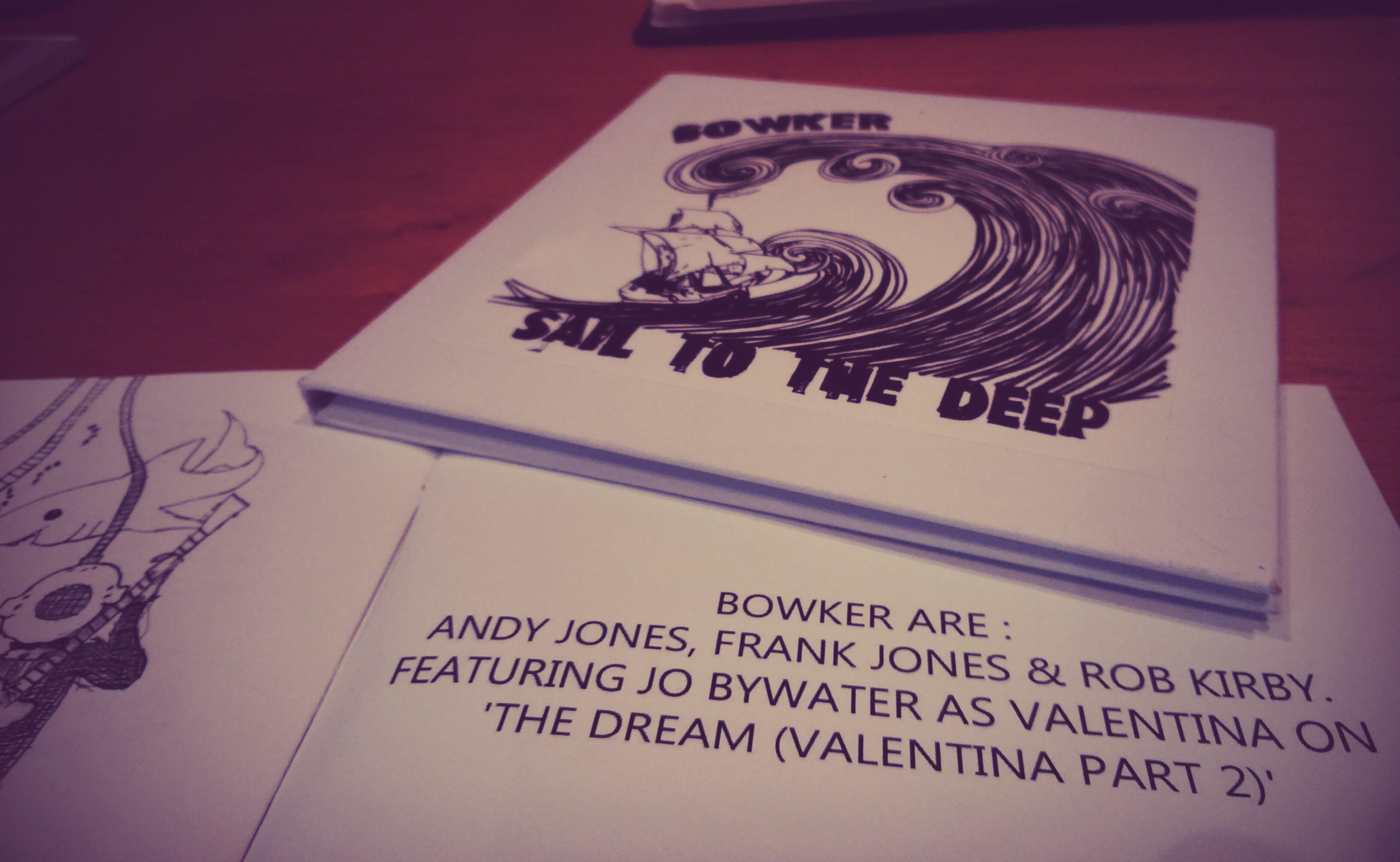 Bowker album sleeve